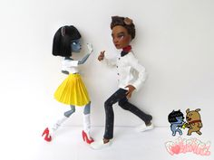 kakaotalk Kakao Friends Frodo and Neo Ooak Custom Doll 카카오 프렌즈 프로도  네오 인형 by Dollightful