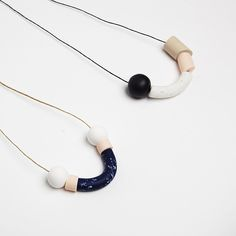 Shapes Clay Necklace