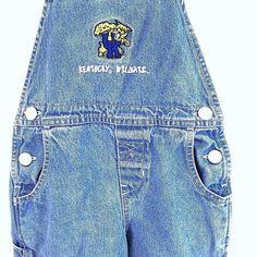 University Of Kentucky Wildcats Bib Overalls Sz  3T Unisex Blue Jeans Denim UK  #RedOak #Overalls #Everyday