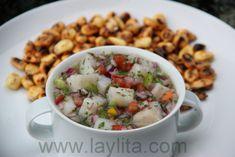 Ceviche de pescado  or fish ceviche