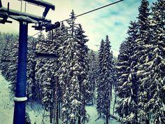 December 31st 2014 #Hirschkoghel Express #Zell-am-See #Austria #Ski #Snow