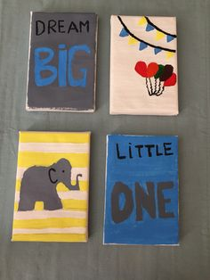 For the nursery! not the most crafty mom to be but I tried! #elephantlove
