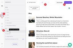 Výsledok vyhľadávania obrázkov pre dopyt website blog post preview design