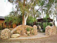 Backyard - Desert Courtyards - MyHomeIdeas.com