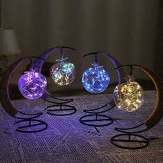The Crescent Moon Fairy Light Lantern brings a colorful glow to your favorite spaces. Shop for creative lighting from around the globe at the Apollo Box. Led Lantern, Lanterns, Lantern Lighting, Galaxy Bedroom, Galaxy Wedding, Moon Fairy, Moon Decor, Apollo Box, Cute Room Decor