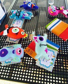 Felt monsters little monster party adopt a monster theme