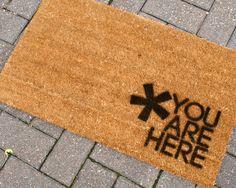 You are here doormat.