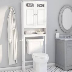 Rosecliff Heights Roberts 25 W X 68 H Over The Toilet Storage regarding size 2000 X 2000 Bathroom Over Toilet Storage Cabinets - Earlier bathroom cabinets Storage Furniture, Over Toilet Storage, Over Toilet, Storage Spaces, Storage Cabinets, Bathroom Furniture Storage, Storage, Bathroom Decor, Bathroom Cabinets