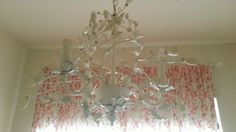 Shabby Chic Chandelier by ittybittysuzy on Etsy