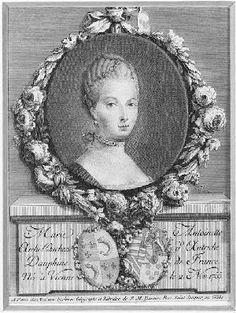 Le 16 mai 1770 Mariage du dauphin Louis Auguste avec L'archiduchesse Marie Antoinette d'Autriche