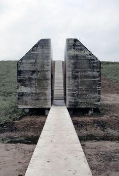 Bunker 599, The Netherlands, by Rietveld Landscape and Atelier de Lyon (2010)