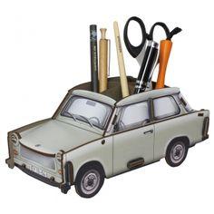"""Werkhaus Shop - Trabant 601 """"Papyrusweiss"""" - Stiftebox"""
