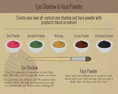 Make your own makeup!