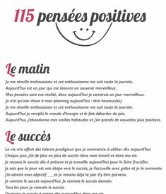 115 pensées positives pour transformer votre vie About of our thoughts are repetitive and negative, which is why we have carefully chosen 115 positive thoughts for you to repeat each day. Vie Positive, Positive Attitude, Positive Thoughts, Positive Quotes, Motivational Quotes, My Mind Quotes, Change Quotes, Quotes For Him, Book Quotes