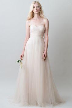 Emma wedding dress by #jennyyoonyc available at Carrie Karibo Bridal www.carriekaribobridal.com #weddingdress #carriekaribobridal