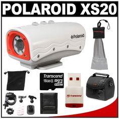 Polaroid XS20 Waterproof HD Action Video Camera « Blast Gifts
