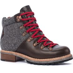 The vintage-inspired, supremely stylish Woolrich Women's Rockies Boot looks like it should be tackling a peak in the Swiss Alps circa 1920.