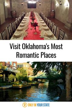 If you're looking for a romantic day trip or something special for a couple's weekend in Oklahoma, we've got you covered. From wine caves to beautiful canal boat rides, check out these local spots where love is in the air. Weekend Getaways For Couples, Romantic Weekend Getaways, Grand Lake, Most Romantic Places, Air Balloon Rides, Canal Boat, Travel Oklahoma, Relaxing Day, Family Adventure