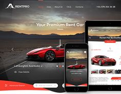 "Check out this @Behance project: ""RentPro - Car Dealer's Website"" https://www.behance.net/gallery/45424437/RentPro-Car-Dealers-Website"