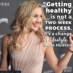 Kate Hudson is not into crash dieting