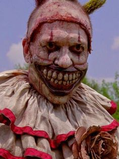 Between embodying a terrifying clown (or two) on American Horror Story and fighting off zombies on The Walking Dead, I think we can safely say that actor John Carroll Lynch has the corner on the horror TV market.