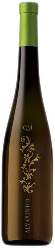 Alvarinho QM  wine / vinho / vino mxm. Transparent film.