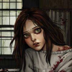 Alice <3 Alice Sweet Alice, Dark Alice In Wonderland, Alice Liddell, Alice Madness Returns, Were All Mad Here, Arte Horror, Through The Looking Glass, Tim Burton, Creepypasta