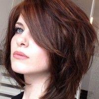 layered haircut for medium length hair