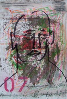 Davey Sutherland Mixed media male 07