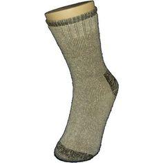 Knit Comfort Men's Outdoor Socks, Size: Large, Gray