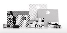 black & white packaging // small details // luxury brand