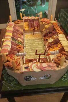 Football stadium platter anyone