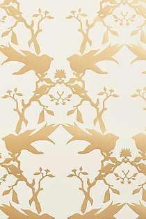 Anthropologie - Thornbird Wallpaper