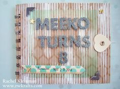 DCWV Corrugate stack and Weekend Neutrals stack. Pet birthday mini album by rwkrafts