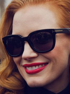 Jessica Chastain - PFW. The 50 Best Photos From Fashion Month - The Cut