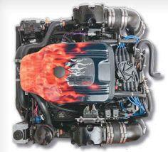 $8095 Mercruiser PLUS Series 350 MAG MPI Alpha Bobtail Marine Engine-Performance Product Technologies EFI 300hp