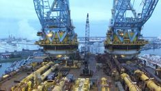 "Saipem 7000 | Saipem-7000-DCV- being on deck is like ""land of the giants"""
