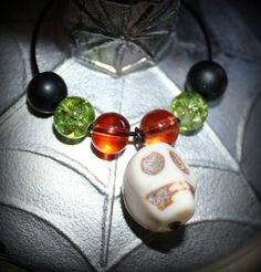 Multicolor Skull Wine Charms by MeDayTreasures on Etsy, $16.00