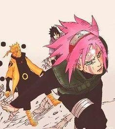 You get to watch my back: Sakura - Naruto Shippuden