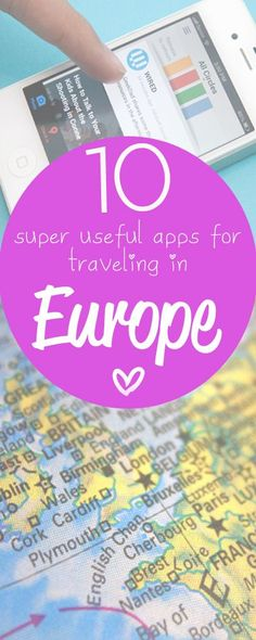 My favorite Europe #travel apps! http://toeuropeandbeyond.com/favourite-europe-travel-apps/
