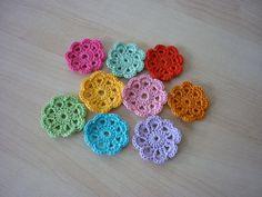 Crochet flowers #crochet #flower | by Sónia M