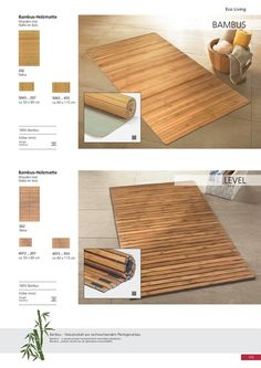 A bathmat made made from real bamboo for a beautiful ambiance for the bathroom Bath Rugs, Bath Mat, Bathroom, Beautiful, Home, Bamboo, Washroom, Full Bath, Ad Home