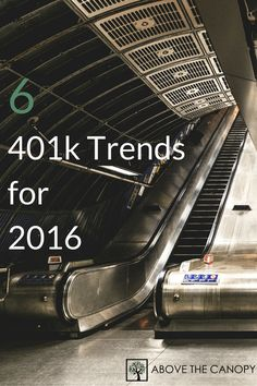 The retirement plan industry in America is changing rapidly. Here are 6 401k trends for 2016 that plan sponsors to monitor: