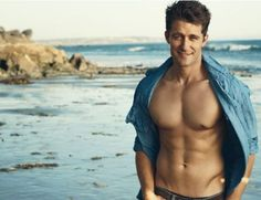 Matthew Morrison and his abs