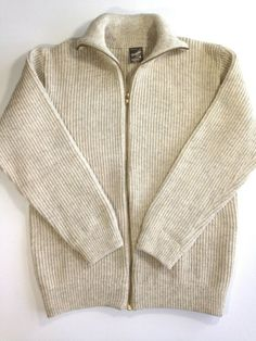 MOUTEN Mens Print Regular Fit Zip Up Knitted Open Front Cardigan Sweaters