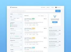 Check out the new Job search page for Hubstaff Talent that we posted on Dribbble like it? Search Page, Search Web, Job Search, Card Ui, Job Posting, Find A Job, New Job, Appointments, Web Design