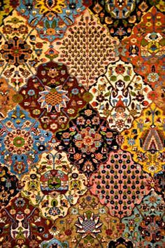 Carpet Museum Tehran, Iran.