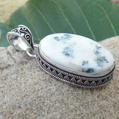 Forest Agate Pendant