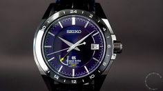 Into The Wild Blue Yonder  The Grand Seiko Black Ceramic Limited Edition SBGE039, with its impressive level of accuracy, is presented in a five part case formed of zirconia ceramic and high-intensity titanium, with an eye-catching blue dial.  #watch #watc