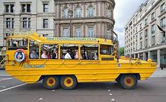 duck tour london